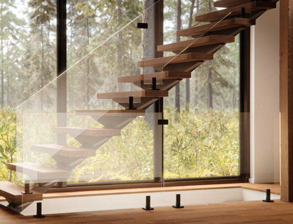 Glassandmirror Staircase Glass Railing